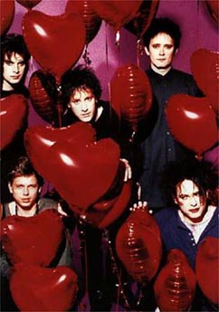 The Cure in hearts